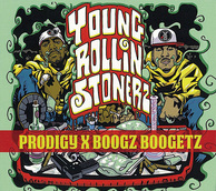 PRODIGY & BOOGZ BOOGETZ 『Young Rollin Stonerz』 プロディジーの新たな魅力も開花、名コンビ誕生を予感させるコラボ盤