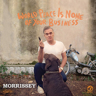 MORRISSEY 『World Peace Is None Of Your Business』 名門ハーヴェストよりパリ録音の5年ぶり充実作