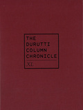 THE DURUTTI COLUMN 『Chronicle XL』